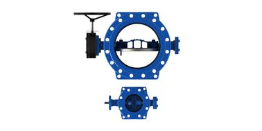 China Double Eccentric Butterfly Valve supplier
