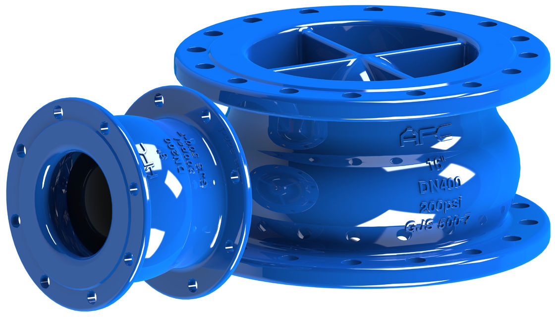 Vertical / Horizontal Installation Non Slam Type Check Valve Powder Epoxy Coated Available