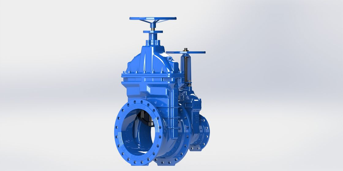 Drinking Water Flange Water Gate Valve High Grade Ductile Iron Founded