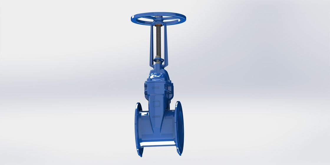 Resilient Seated Rising Stem Gate Valve , WRAS Approved For Water Service