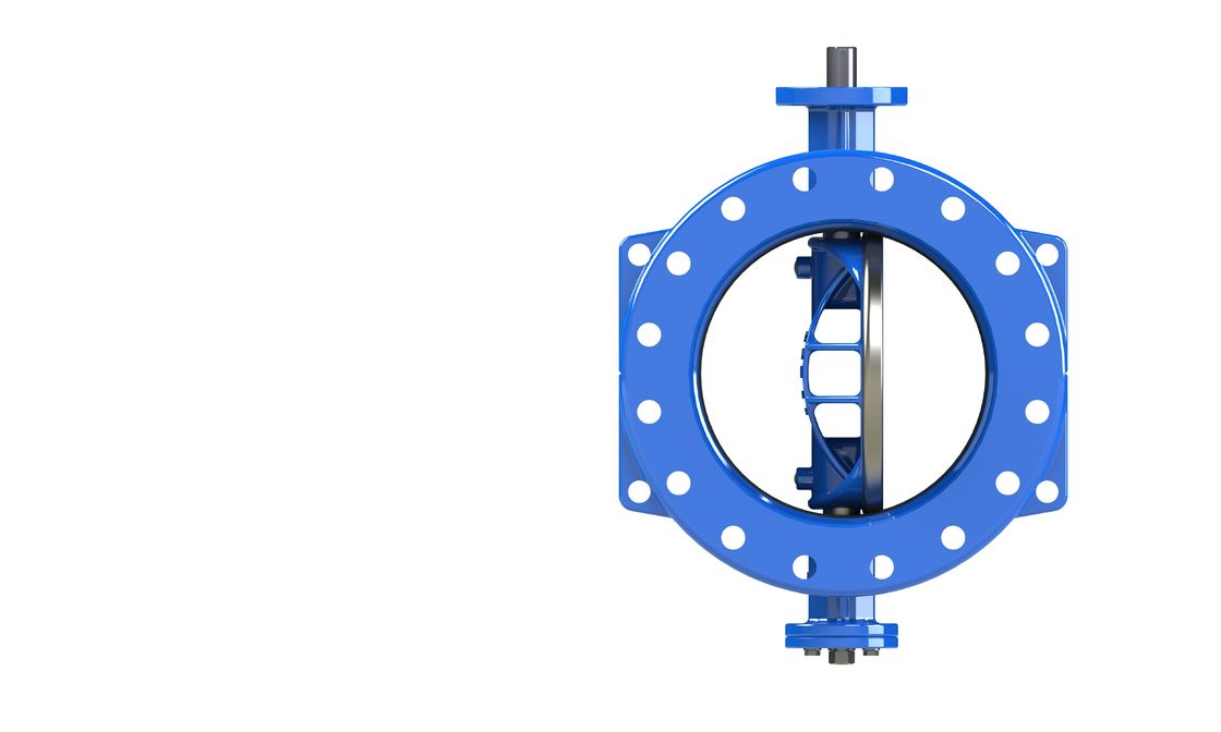 Low Torque Dovetail Double Eccentric Butterfly Valve Both Side Seal Online Repairing