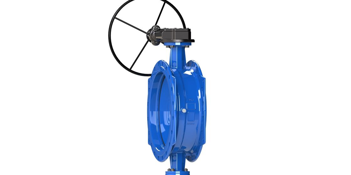AWWA C504 Double Eccentric Butterfly Valve With Drinking Water Approved