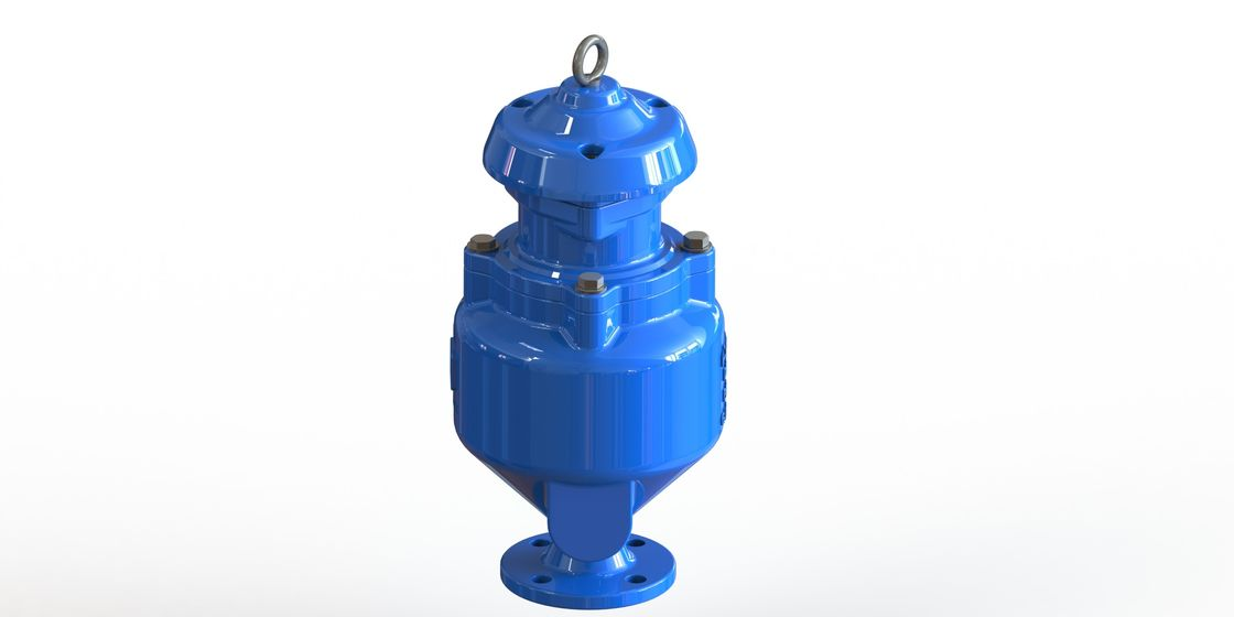 Spill Free Combination Sewage Air Release Valve With Single Body Flange Type
