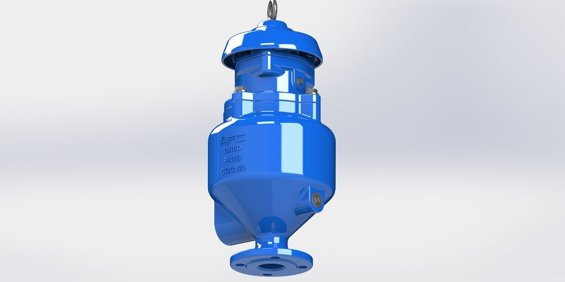 Spill Free Sewage Air Release Valve With Anti Shock Design To Prevent Water Hammer