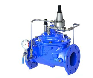 China Sustaining / Relief Pilot Water Flow Regulator Valve Main Valve Available factory
