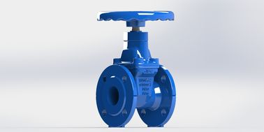 Flange Type Resilient Seated Gate Valve Handwheel Operated Available With FBE Coated