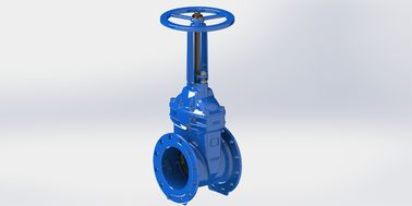 Resilient Seated Rising Stem Gate Valve WRAS Approved For Water Service