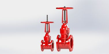 Outside Screw Yoke / NRS Type UL FM Gate Valve For Fire Protection Service