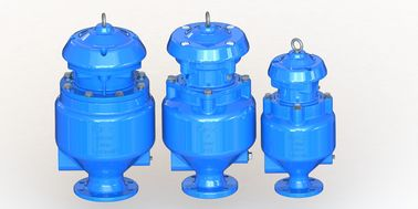 China Epoxy Coated Sewage Air Release Valve With SS316 Internal Parts factory