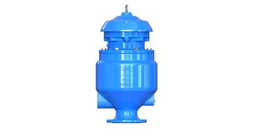 China Flange Drilling Stainless Steel Air Release Valve For Sewage Water System factory