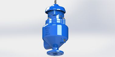 China Spill Free Sewage Air Release Valve With Anti Shock Design To Prevent Water Hammer factory