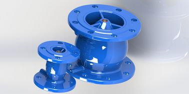 China Nozzel Check Valve, Fusion Powder Epoxy Coated Check Valves For Water factory