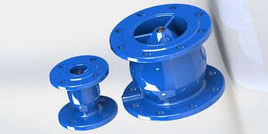 Epoxy Coated Ductile Iron Non Slam Swing Check Valve With Anti Water Hammer Function