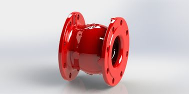 China EPOXY Coated Non Slam Check Valve With High Strength Ductile Iron Body factory