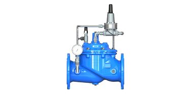 China Blue Ductile Iron Pressure Sustaining Valve With Nylon - Reinforced Diaphragm factory