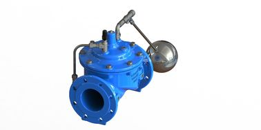Ductile Iron Main Valve Remote Float Control Valve With Stainless Steel 304 Float