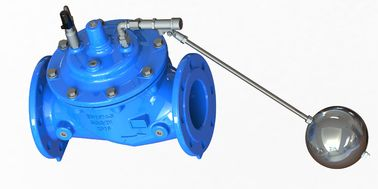 Durable Stainless Steel Float Valve Ductile Iron Body With Blue Epoxy Coated