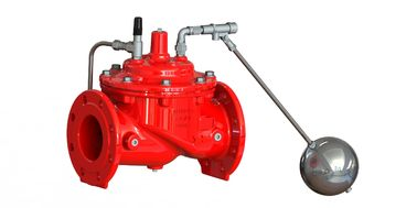 Red / Blue Color Float Control Valve With EPDM And Nylon Reinforcement Diaphragm