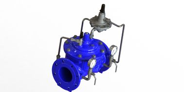 Globe Type Control Valves For Flow Control EPDM  Nylon Reinforcement Diaphragm