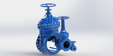 Simple Operation Water Control Valve Resilient Gate Valve Handwheel Operated